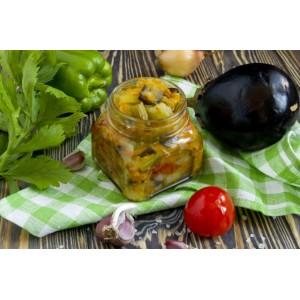 Рагу из овощей, запечённых на противне