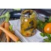 Баклажаны с морковкой — овощной салат на зиму