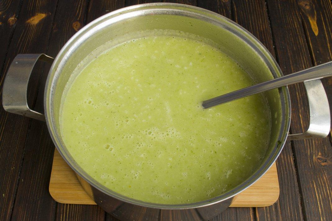Диетический суп из брокколи рецепт с фото