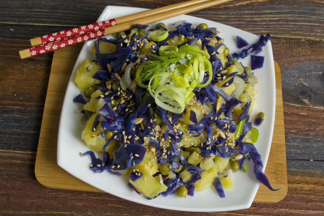 Постные салаты рецепты с фото